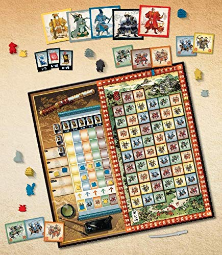 Gunkimono Board Game - Macronova Games