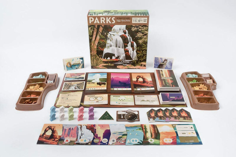 PARKS Board Game - Macronova Games