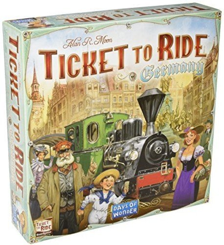 Ticket to Ride: Germany Board Game - Macronova Games
