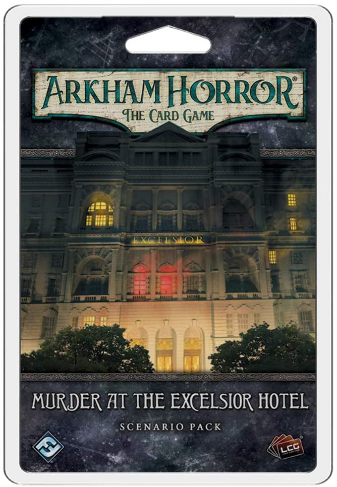 Arkham Horror: The Card Game - Murder at the Excelsior Hotel Mythos Pack