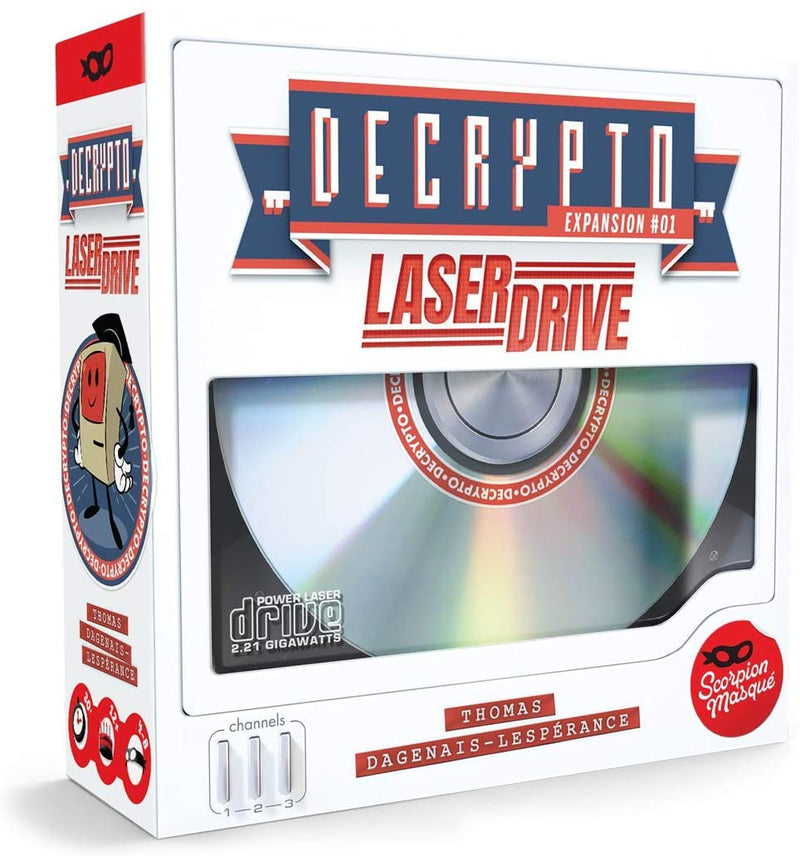 Decrypto: Laser Drive Board Game - Macronova Games