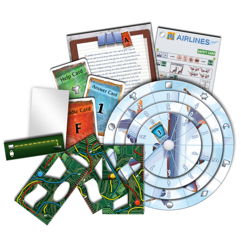 EXIT: The Game - The Stormy Flight Board Game - Macronova Games