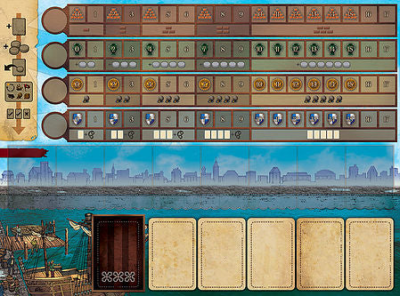 Endeavor: Age of Sail Board Game - Macronova Games
