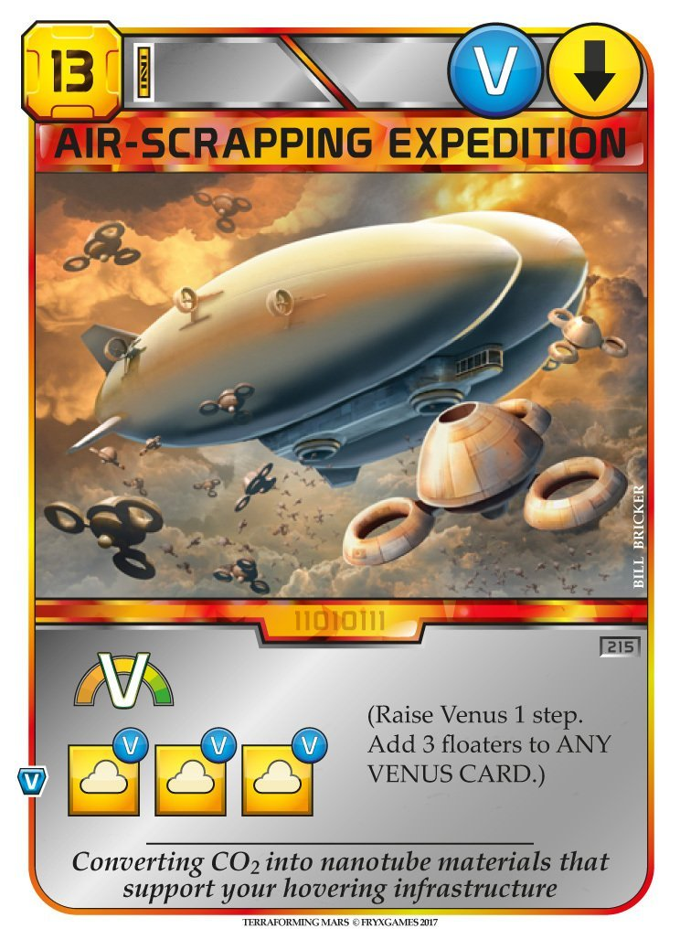 Terraforming Mars: Venus Next Board Game - Macronova Games