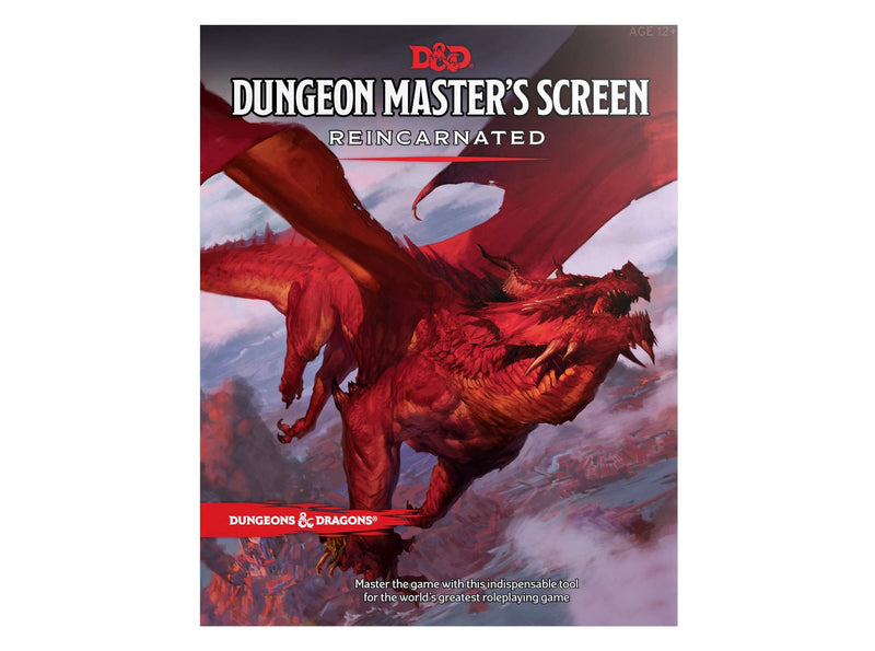 Dungeons and Dragons RPG: Dungeon Master's Screen Reincarnated Accessory - Macronova Games