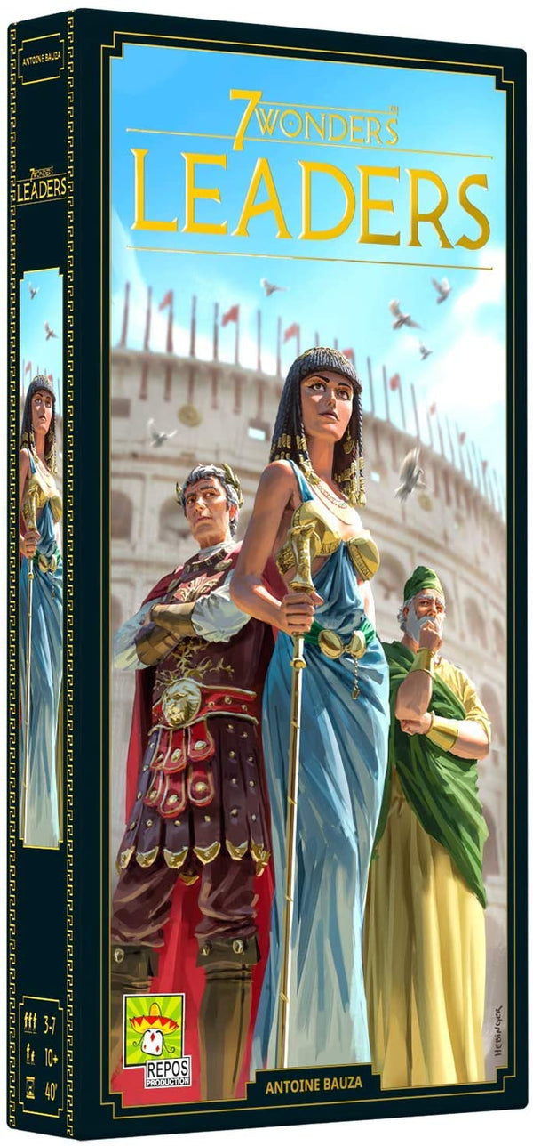 7 Wonders: Leaders (Second Edition) - Macronova Games