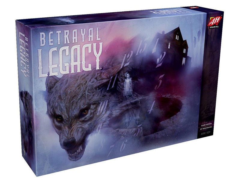 Betrayal Legacy Board Game - Macronova Games