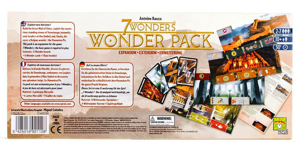 7 Wonders: Wonder Pack Board Game - Macronova Games
