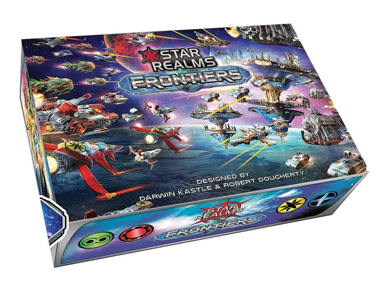 Star Realms: Frontiers Board Game - Macronova Games