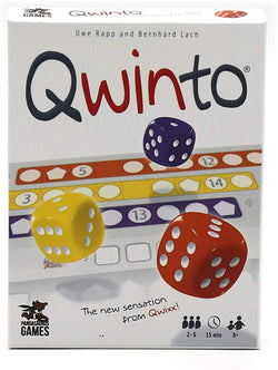 Qwinto Board Game - Macronova Games