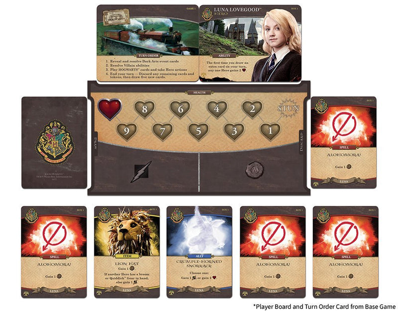 Harry Potter: Hogwarts Battle - The Monster Book of Monsters Board Game - Macronova Games