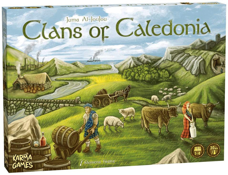 Clans of Caledonia Board Game - Macronova Games