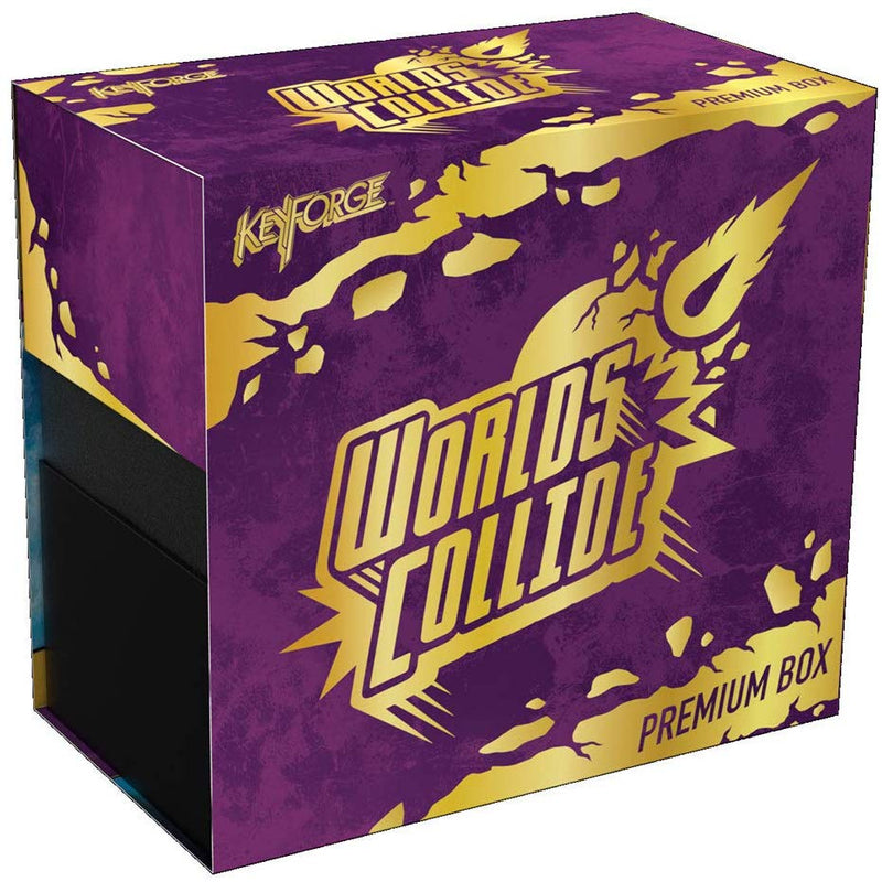 Keyforge: Worlds Collide Premium Box Board Game - Macronova Games