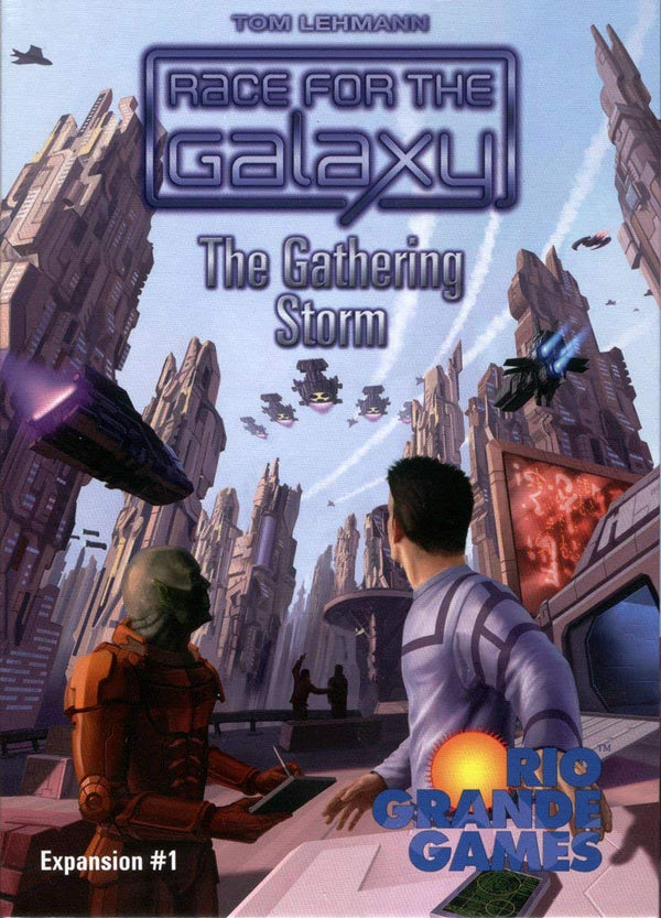 Race for the Galaxy: The Gathering Storm Expansion Board Game - Macronova Games