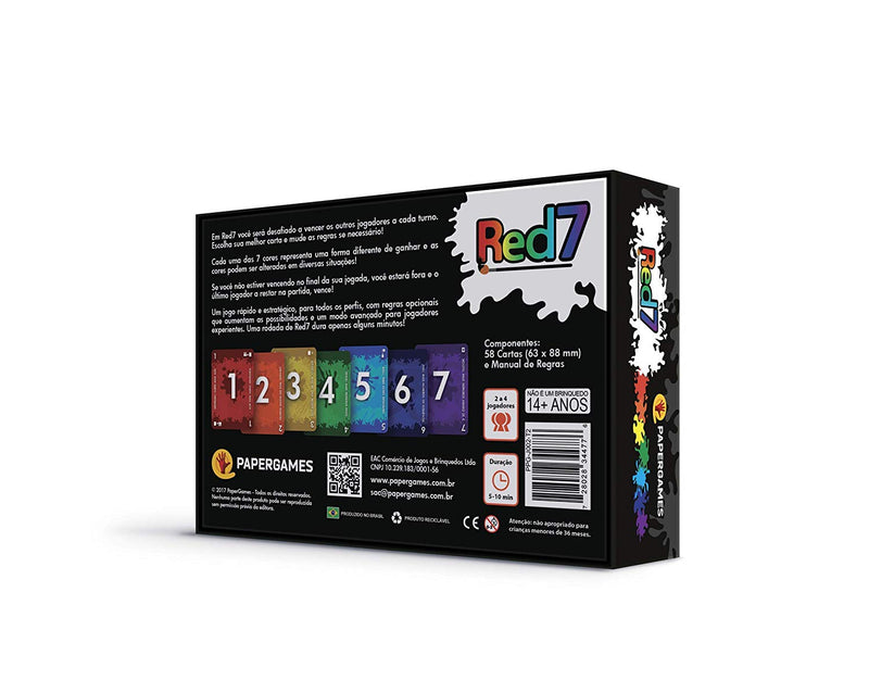 Red7 Board Game - Macronova Games