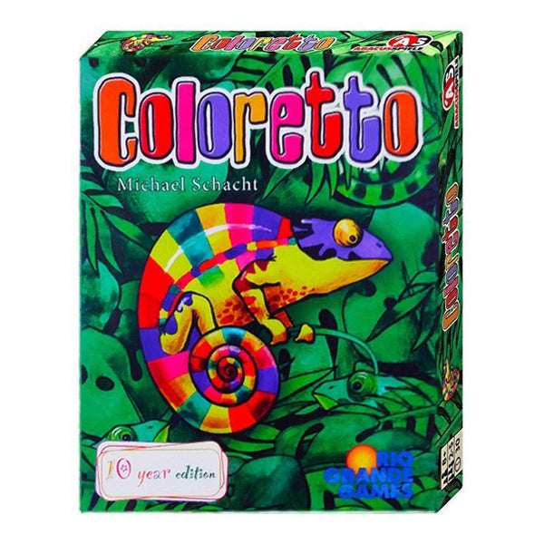 Coloretto Board Game - Macronova Games