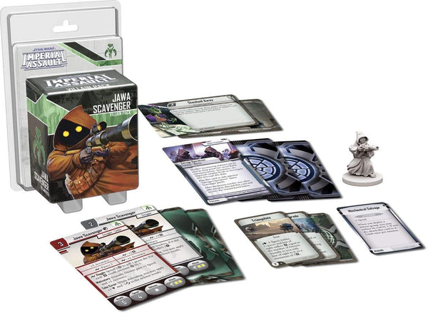 Star Wars: Imperial Assault - Jawa Scavenger Villain Pack - Macronova Games