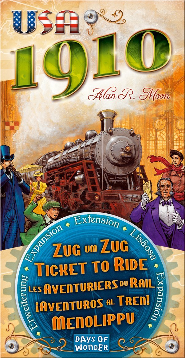 Ticket to Ride: USA 1910 Expansion Board Game - Macronova Games