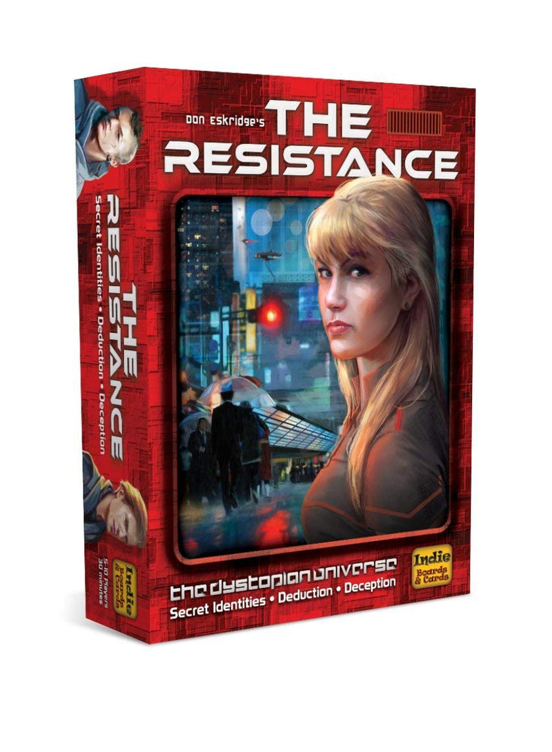 The Resistance (3rd Edition) - Macronova Games