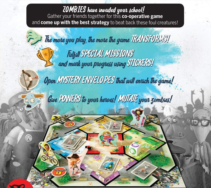 Zombie Kidz: Evolution Board Game - Macronova Games