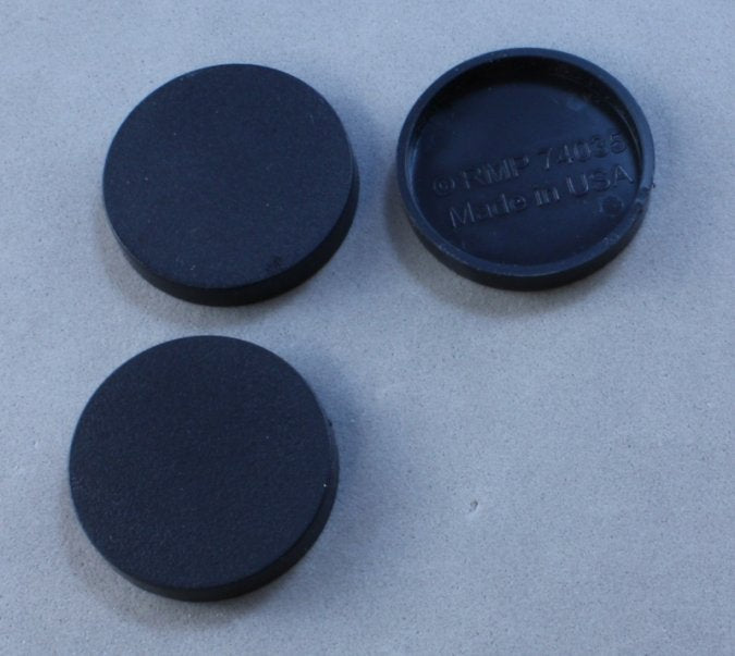 1in Round Plastic RPG Base (20)