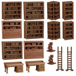 Terrain Crate: Library Accessory - Macronova Games