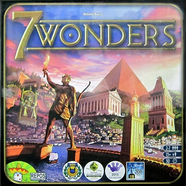 7 Wonders Board Game - Macronova Games