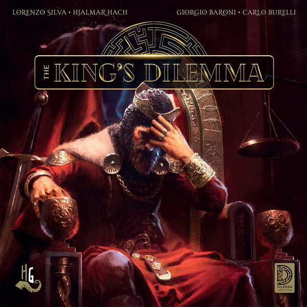 The King's Dilemma Board Game - Macronova Games