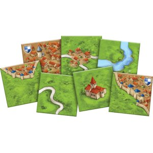 Carcassonne Board Game - Macronova Games