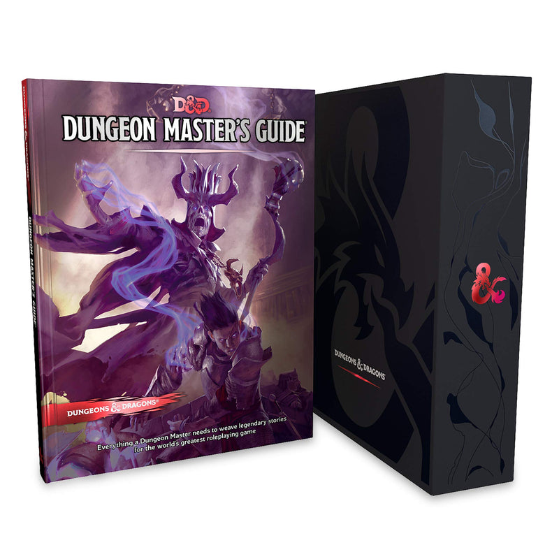 Dungeons and Dragons RPG: Core Rulebook Gift Set Board Game - Macronova Games