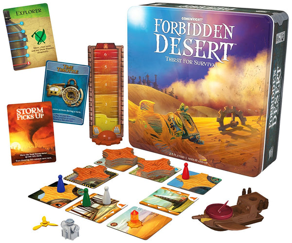 Forbidden Desert Board Game - Macronova Games