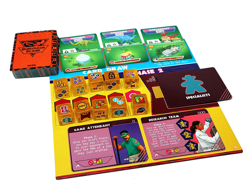 Duelosaur Island Board Game - Macronova Games