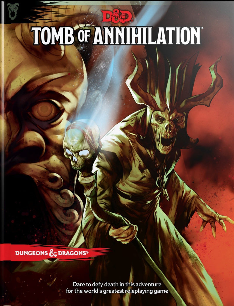 Dungeons and Dragons RPG: Tomb of Annihilation Board Game - Macronova Games