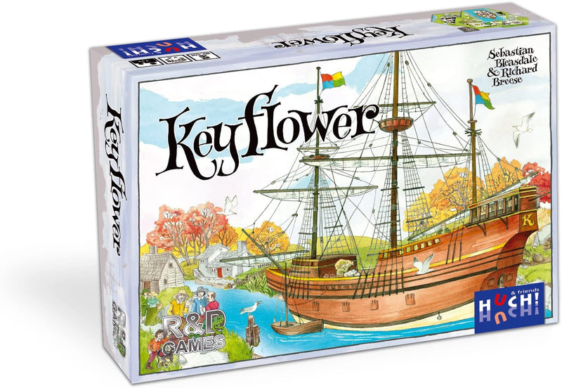 Keyflower Board Game - Macronova Games