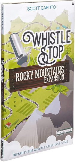 Whistle Stop: Rocky Mountains Expansion Board Game - Macronova Games