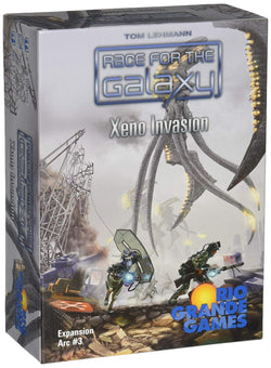 Race for the Galaxy: Xeno Invasion Expansion Board Game - Macronova Games