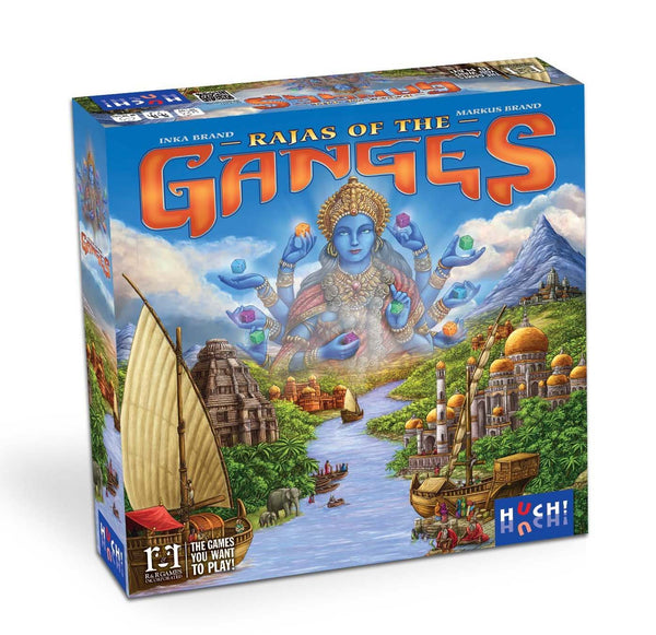 Rajas of the Ganges Board Game - Macronova Games
