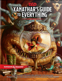 Dungeons and Dragons RPG: Xanathars Guide to Everything Board Game - Macronova Games