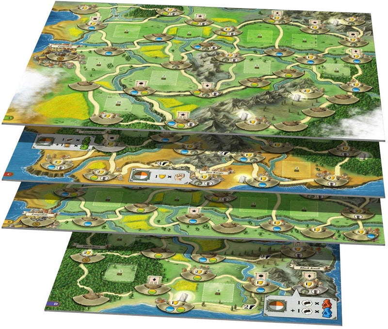 Expedition to Newdale Board Game - Macronova Games