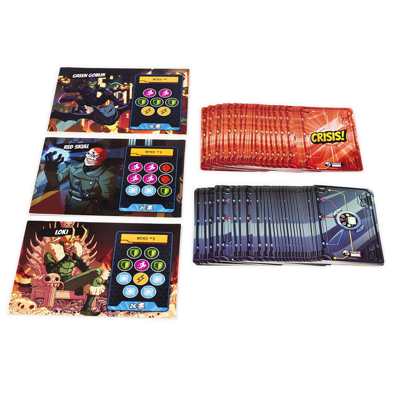 5 Minute Marvel Board Game - Macronova Games