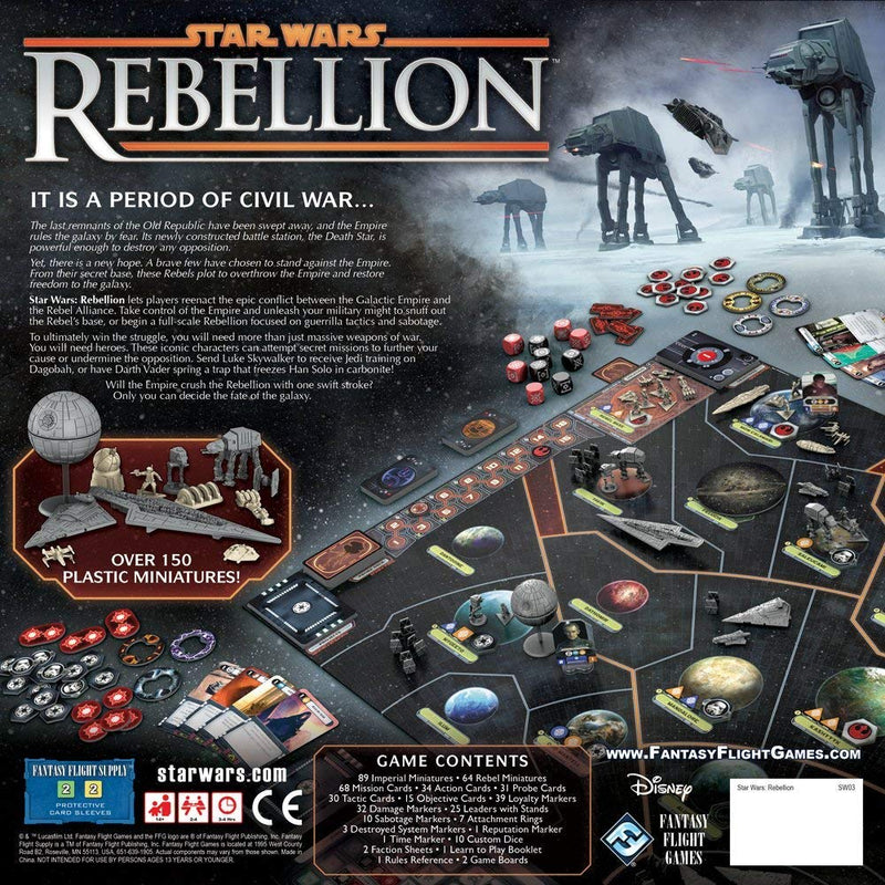 Star Wars: Rebellion Board Game - Macronova Games