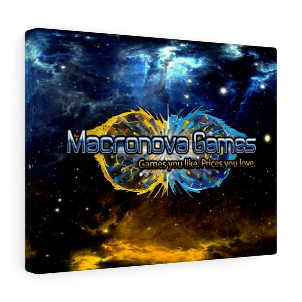 Macronova Games Canvas Gallery Wrap Canvas - Macronova Games