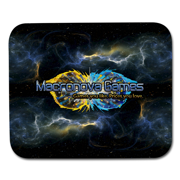 Macronova Games Space Logo Mousepad Mouse pad Horizontal - Macronova Games