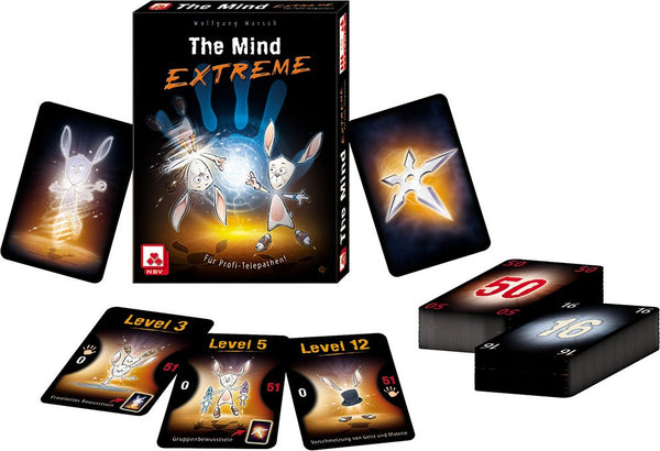 The Mind Extreme Board Game - Macronova Games