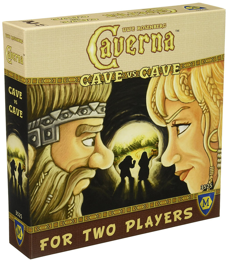 Caverna: Cave Vs. Cave Board Game - Macronova Games