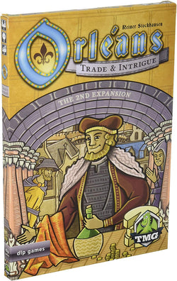 Orleans: Trade & Intrigue Board Game - Macronova Games