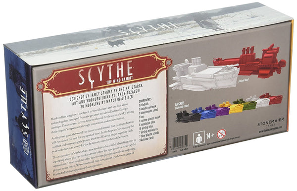 Scythe: The Wind Gambit Board Game - Macronova Games