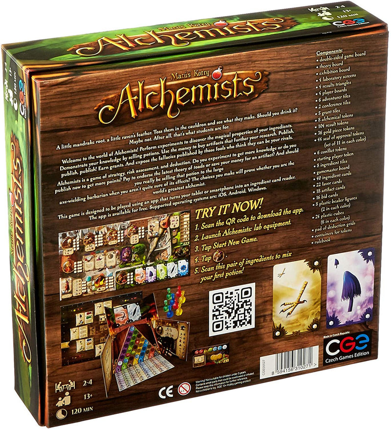 Alchemists Board Game - Macronova Games