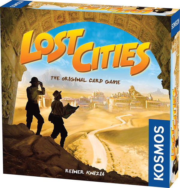 Lost Cities: The Card Game Board Game - Macronova Games