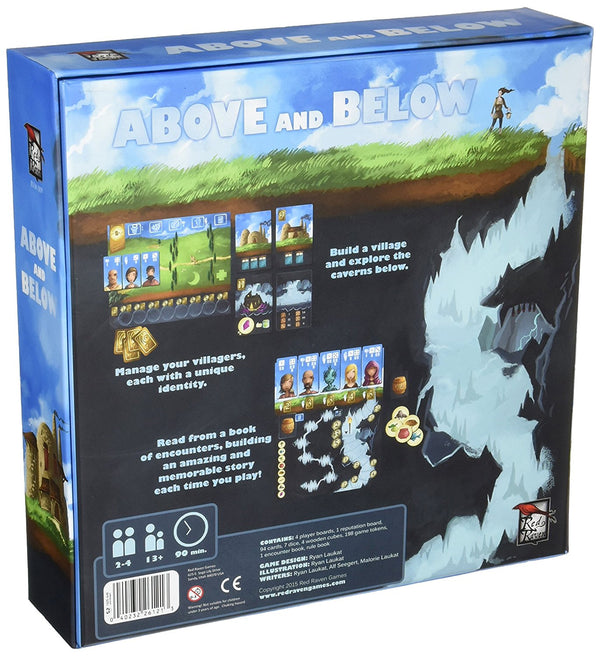 Above and Below Board Game - Macronova Games